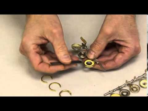 Removing Open Hole Flute Bushings