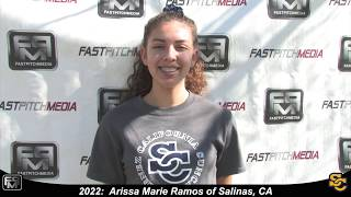 2022 Arissa Marie Ramos Catcher and Outfield Softball Skills Video - Ca Suncats