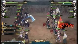 Naruto Online - Guerra Ninja S1 Insanity (Hashirama, AKA e Shin)
