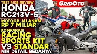 Penampakan Honda RC213V-S Racing Sports Kit VS Standar yang Harganya 8 Miliar