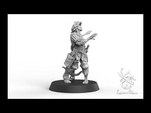 Zombie Crossbowman 3D