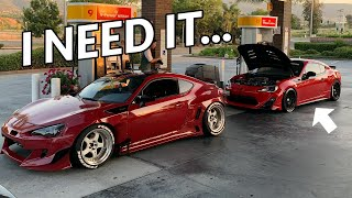 THIS SUPERCHARGED E85 FRS IS SO QUICK! (Loud Exhaust, Pops & Bangs)