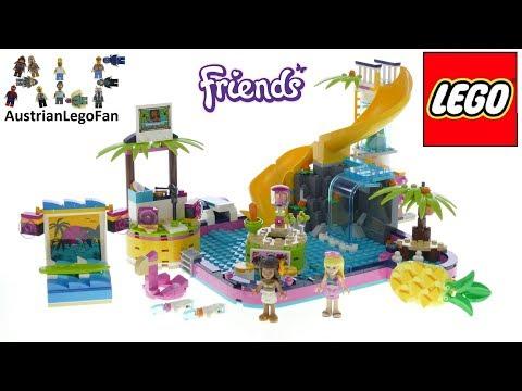 Vidéo LEGO Friends 41374 : La soirée piscine d'Andréa