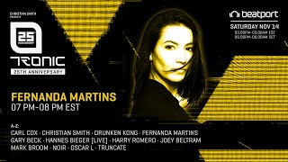 Fernanda Martins - Live @ Tronic 25th Virtual Anniversary, Autumn 2020