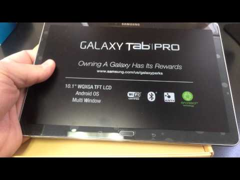 SAMSUNG GALAXY TAB PRO 10.1 T520 Unboxing Video - TABLET in Stock at www.welectronics.com
