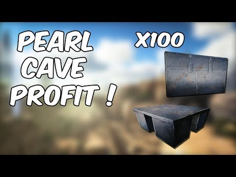 PEARL CAVE PROFIT !?!?! | Ark Official PvP | Ark Survival Evolved