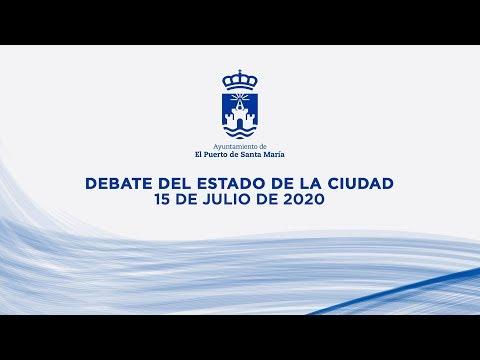 Debate sobre el estado de la ciudad