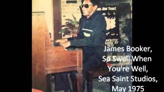 James Booker - So Swell When You're Well
