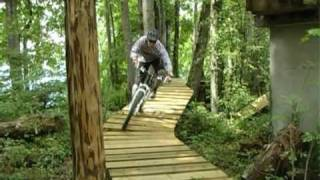 preview picture of video 'bike arena emmetten Woodtrail'