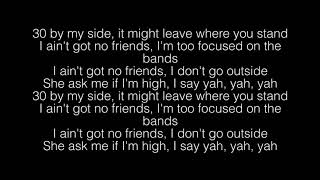HappyBirthdayCalvin  NO FRIENDS Lyrics