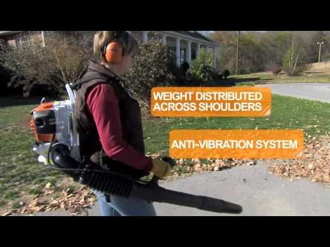 Stihl BR 200 in Fairbanks, Alaska - Video 2