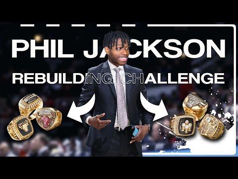 THE PHIL JACKSON REBUILDING CHALLENGE IN NBA 2K20
