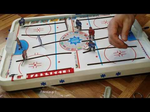 Настольный хоккей ремонт своими руками