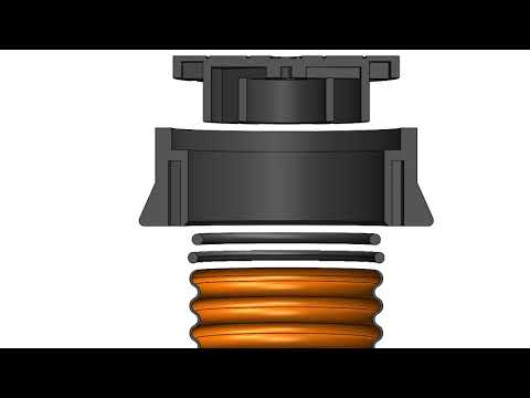 Ø315 dæksel m/fals