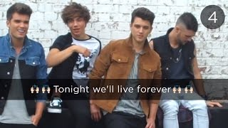 Union J, Union J - Tonight (We Live Forever) | Lyric Video