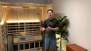 Gymnazo Discusses The Benefits Their Members Receive in Their Clearlight Sanctuary 3 Infrared Sauna