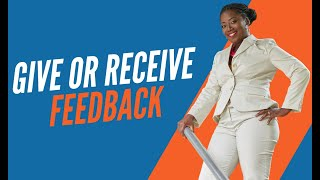 Is It Better To Give Than To Receive Feedback?