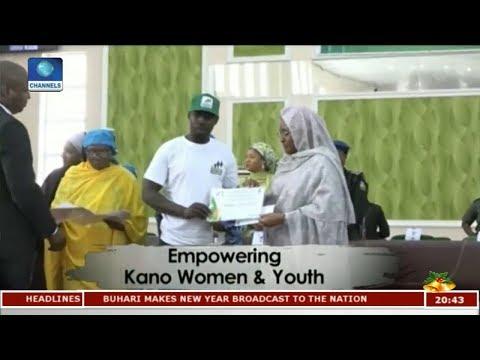 Aisha Buhari Empowers Women, Youths In Kano   Africa 54  