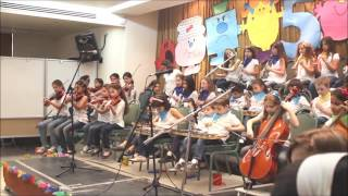 Kiddy Orchestra playing Beethoven – 5th anniversary concert