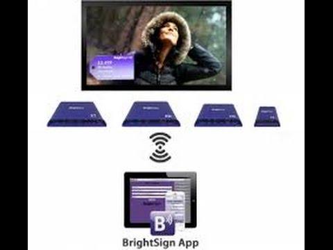 Brightsign App. Управление плеерами BrightSign c планшета или телефона