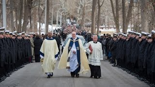Funeral Procession of Rev. Theodore M. Hesburgh, C.S.C. 1917-2015