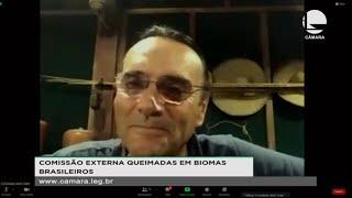 Queimadas - Artistas participam de reunião em defesa dos biomas brasileiros - None