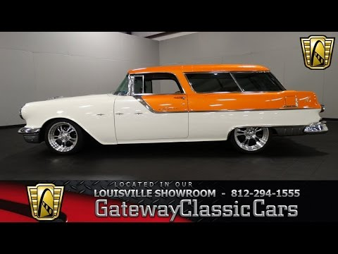 1955  Pontiac Safari Wagon -  Louisville Showroom -  Stock # 1402