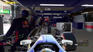 F1™ 2017 Pitlane glitch(Free roam )