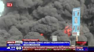 Pipa Pertamina Di Subang Meledak 3 Orang Tewas
