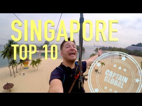 Singapore Travel Guide – Top 10 Things To Do (4K)