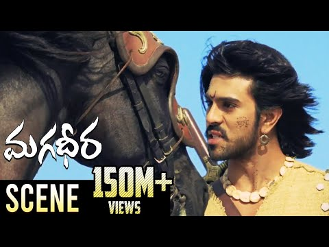 Magadheera Horse Race Fight