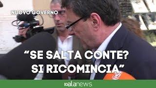 """Governo, Giorgetti (Lega): """"Senza Conte? Si ricomincia daccapo"""""""