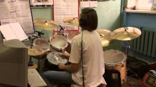 Tarja Turunen - Anteroom of Death  DRUM COVER (Nightwish) What Lies Beneath