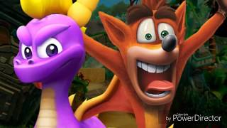 Mario & Sonic and Crash & Spyro tribute 2 - Run in Circles