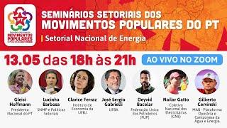 #aovivo | Seminários setoriais dos Movimentos Populares do PT
