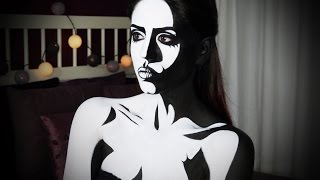 Comic Book Character Body Painting Tutorial