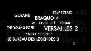 Créations originales Canal+ 2016-2017