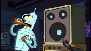Futurama. Bender tem viagens alucinógenas. Dublado Português