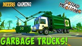 Scrap Mechanic - Garbage Truck Challenge!