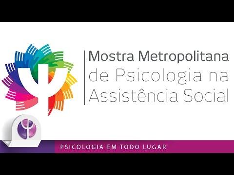Mostra Metropolitana de Psicologia na Assistência Social