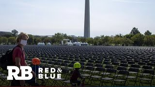 20,000 empty chairs outside White House commemorate 200,000 lives lost to COVID-19