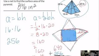 Nets And Surface Area