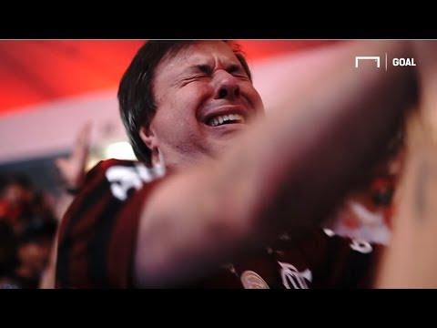 """""""¡La LOCURA en Maracaná! Los festejos INCREÍBLES del título de Flamengo ante River"""" Barra: Nação 12 • Club: Flamengo"""