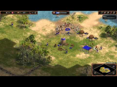 Age of Empires Definitive Colonizing and evolving