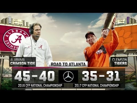 Clemson vs. Alabama III | 2018 Playoff Preview