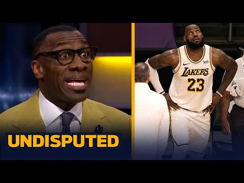 Skip & Shannon react to LeBron's ankle injury & whether it was clean or dirty | NBA | UNDISPUTED