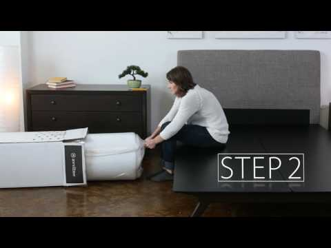 UnBoxing the Aveline Memory Foam Mattress