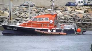 preview picture of video 'Sea Rescue Motorboat Sainte-Anne du Port SNS 156 Saint-Quay Portrieux, Brittany 21st July 2010'
