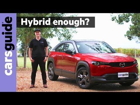 Mazda MX-30 Hybrid 2021 review: M Hybrid
