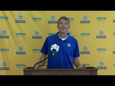 San Jose State football press conference 9/30/19